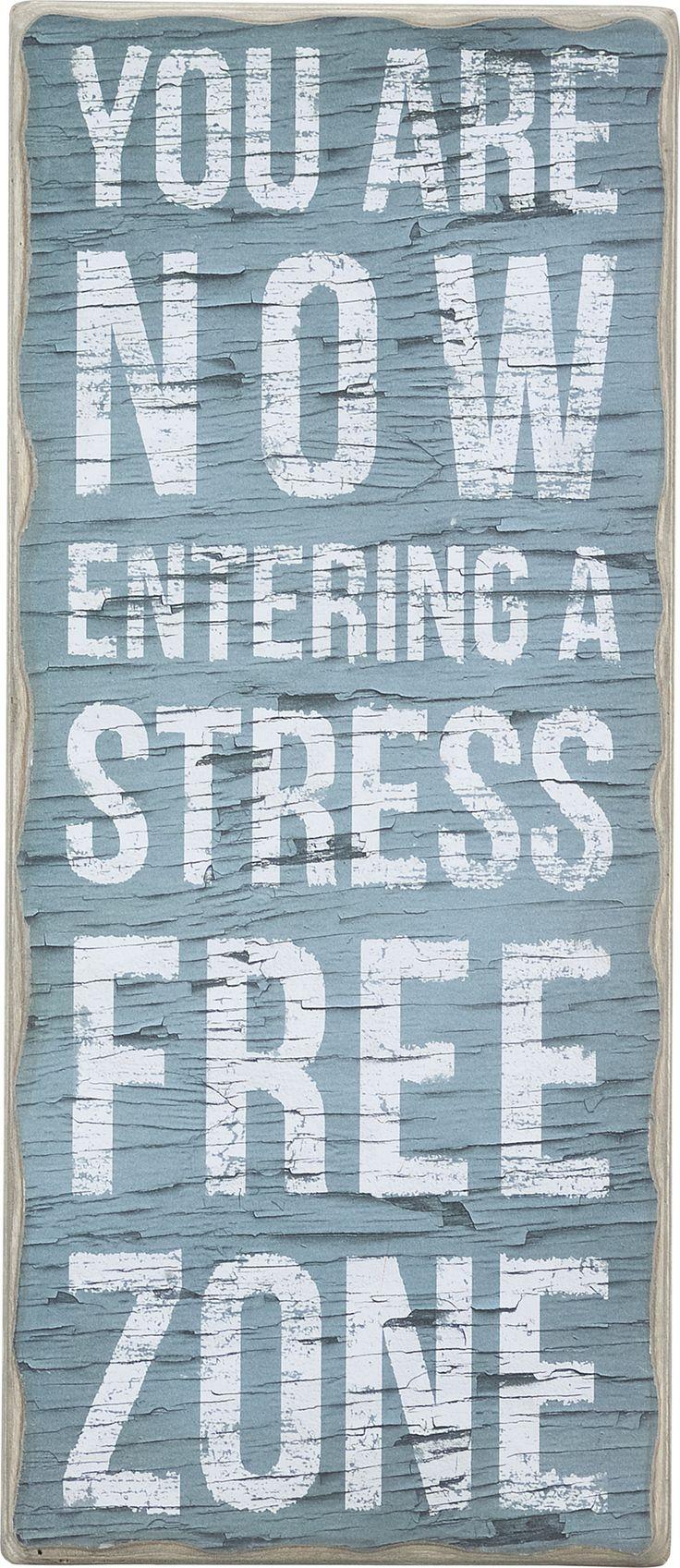 stress-free zone