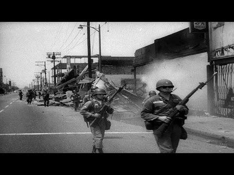 Watts Riots Los Angeles CA 1965 HD Historic Footage