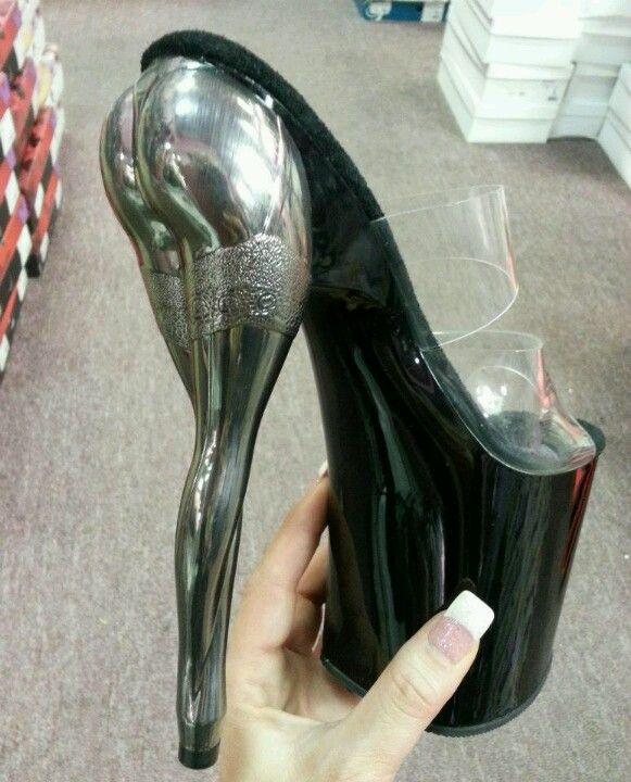 True stripper shoes lol I would so wear these if I were a stripper