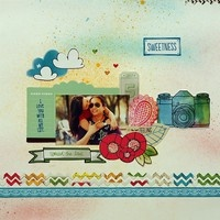 A Project by BhaneLo Scrapbook, Gallery, Bhane 2Peasinabucket, Scrapbook Layout
