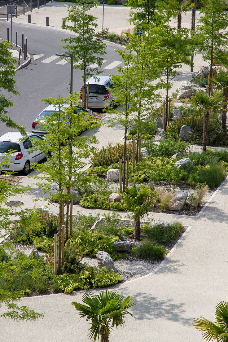 La place franco mauresque et ses jardins de rocaille for Urban landscape design