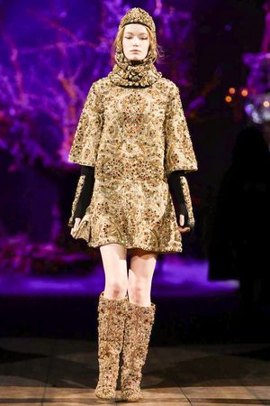 Dolce & Gabbana Ready To Wear Fall Winter 2014 Milan - NOWFASHION