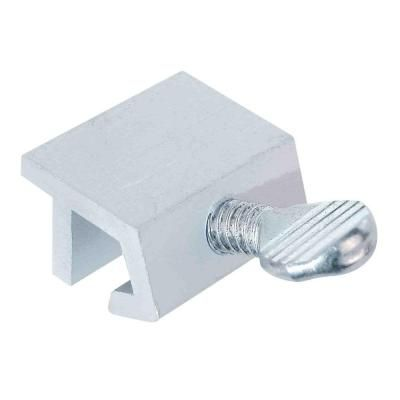 Prime-Line Economy Aluminum Sliding Window Lock with Thumbscrew-U 9980 at The Home Depot