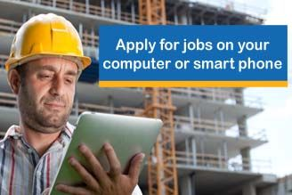 Apply for jobs on your computer or smart phone