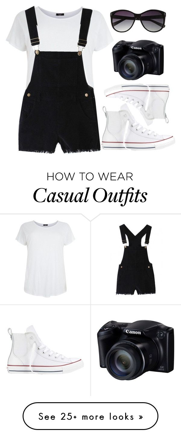 """Casual"" by fashionidea5 on Polyvore featuring Converse and Vince Camuto"