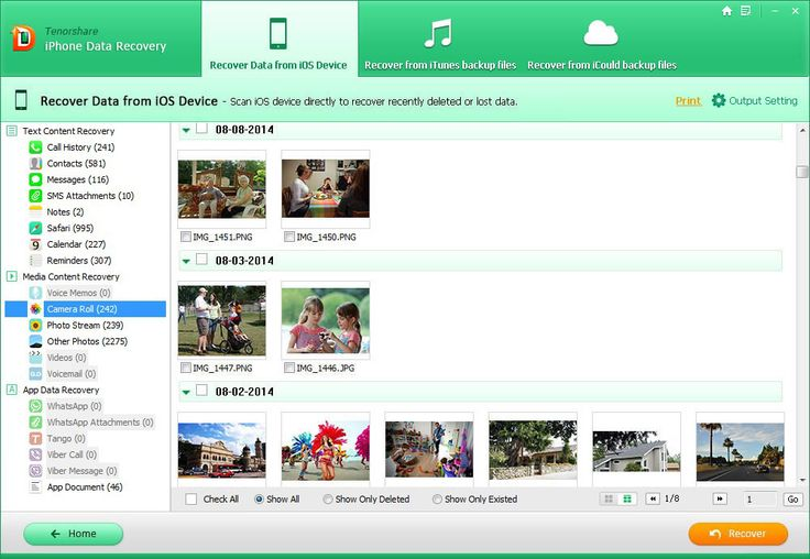 Tenorshare Iphone Data Recovery can Recover Facebook Messages from iPhone  Full Version