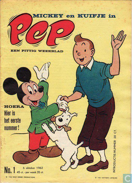 Les Aventures de Tintin - Album Imaginaire - Pep