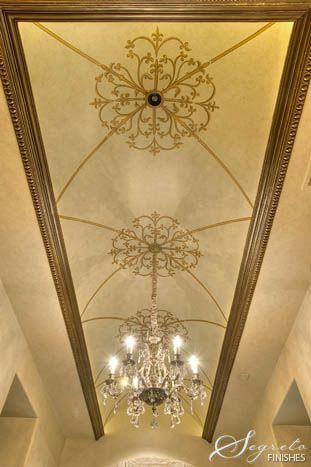 Segreto - Fine Paint Finishes and Plasters - Plaster - Houston TX - Ceilings