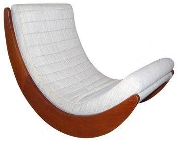 """Vernor Panton """"Relaxer"""" Rocking Chair - midcentury - Rocking Chairs - EcoFirstArt"""