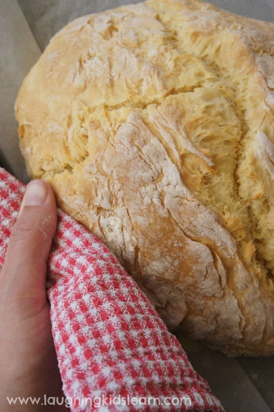 3 ingredient damper bread for Australia Day
