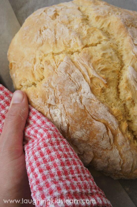 3 ingredient damper bread for Australia Day