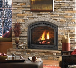 Traditional fireplaces and nice on pinterest for Isokern outdoor fireplace prices