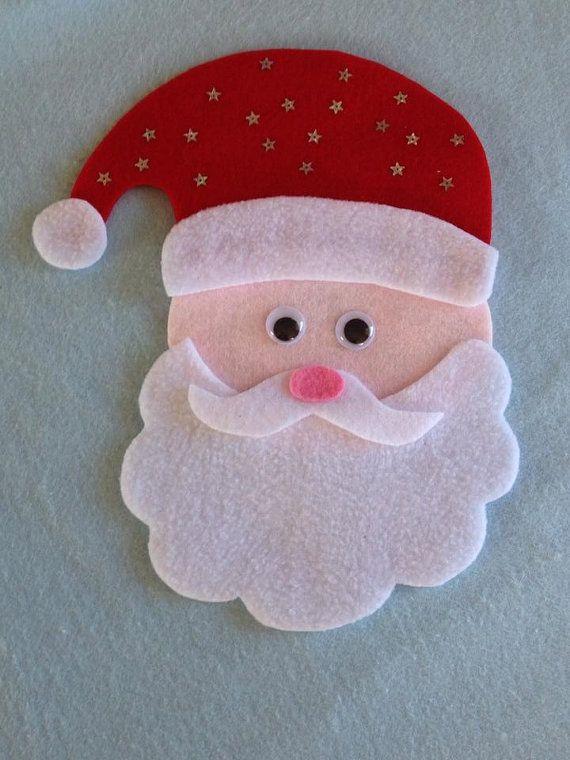 SANTA Bingo Felt Board Set Christmas RHYME SONG by FeltBoardMagic