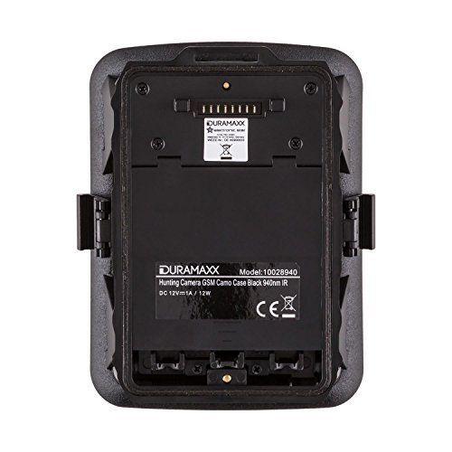 Duramaxx GRIZZLY Mini caméra embarquée étanche pour surveillance de la faune et du gibier de chasse (40 LEDs, Full HD, flash infrarouge,…