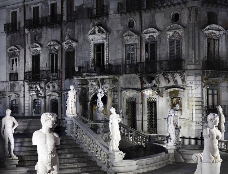 Sicilia, Italy. Piazza Pretoria (della vergogna per i palermitani), Palermo