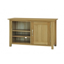 Canterbury Solid Oak MNE20 Standard Video Cabinet