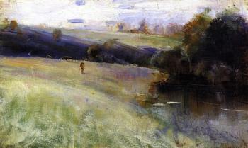 Australian Landscape - Charles Conder - The Athenaeum