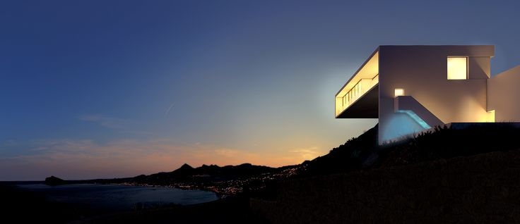 House in the cliff by Fran Silvestre, Non-commissioned 3d visualization project by Lemons Bucket.