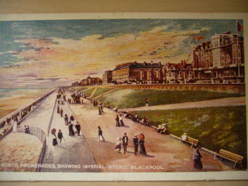 ROUGH SEA, BLACKPOOL, LANCS, 1909 | eBay