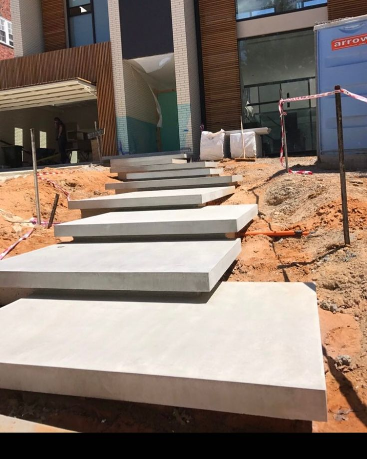 Best Floating Concrete Steps At Kew Project Great Construction 400 x 300