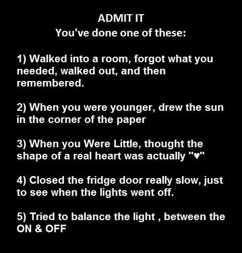 I've done all of this...
