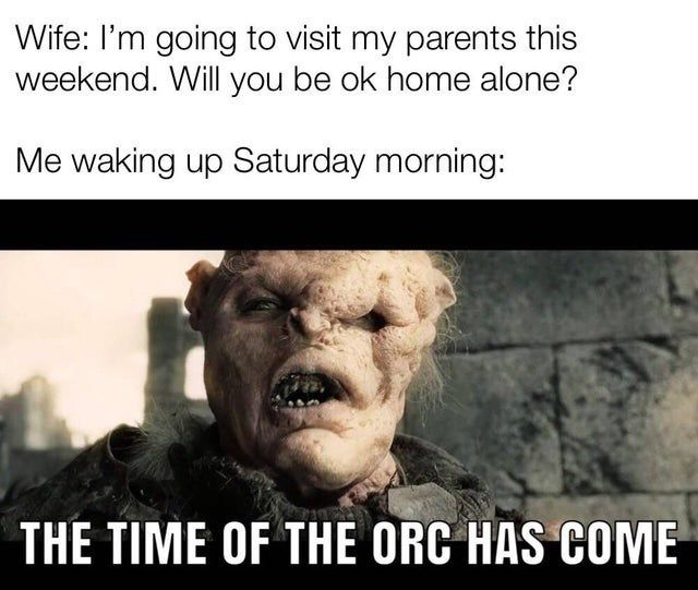 20 Dank Lord Of The Rings Memes For The Superfans Lotr Funny Lord Of The Rings Memes
