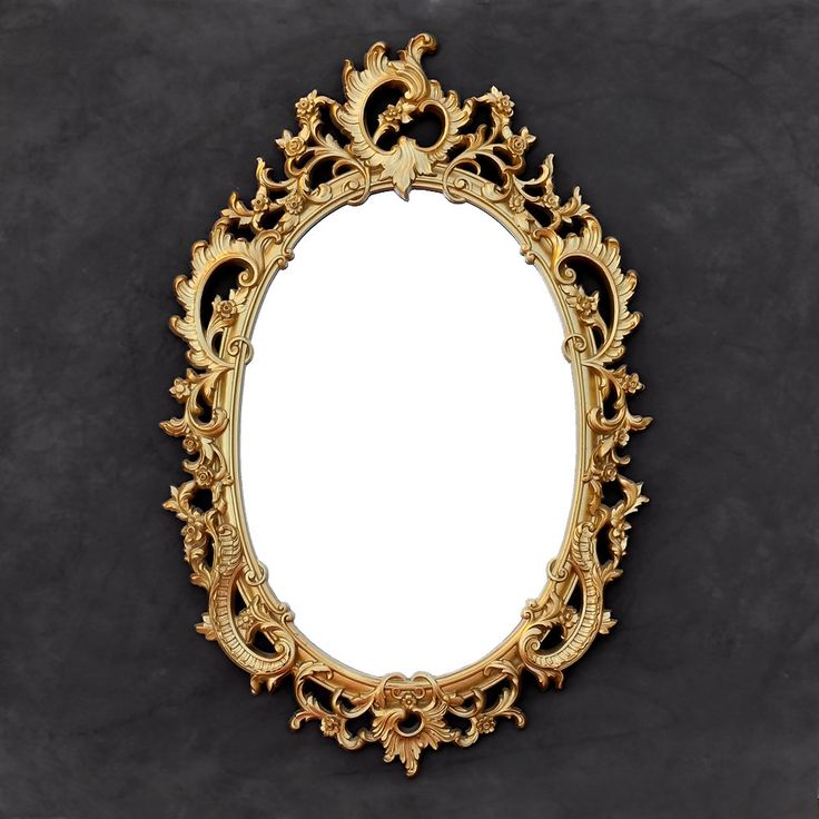 The 25 best victorian mirror ideas on pinterest gothic for Baroque oval mirror