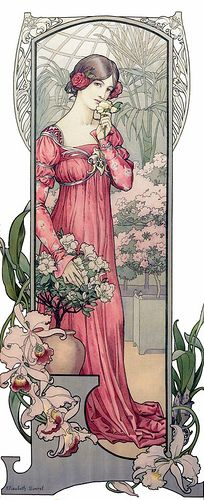 Art Nouveau Illustration