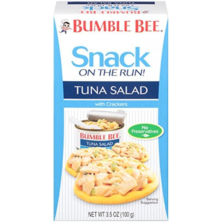 BUMBLE BEE Snack on the Run! Tuna Salad with Crackers Kit, 3.5 Ounce         >>> Want additional info? Click on the image. (This is an affiliate link) #PrimePantry