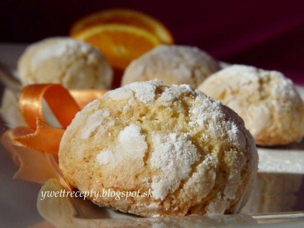 Kokosovo pomarančové crinkles (fotorecept) - obrázok 6