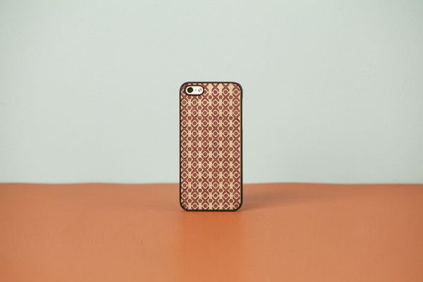 """wood'd COVER IPHONE """"DOUBLE ESSENCE"""" GREEK - PLUM"""