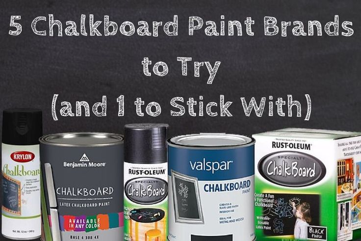 Countertop Paint Brands : ... paint review benjamin moore krylan rustoleum valspar, chalkboard paint