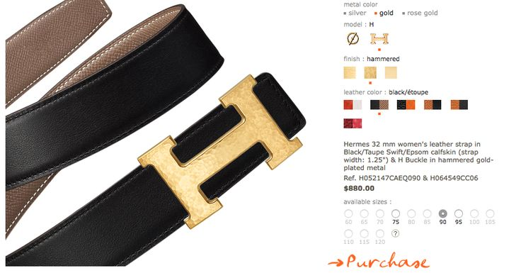 Hammered gold buckle with reversible black belt :D only $880 http://usa.hermes.com/woman/belts/belt-kits/32-mm/u-beltkit-32-women-61094.html#