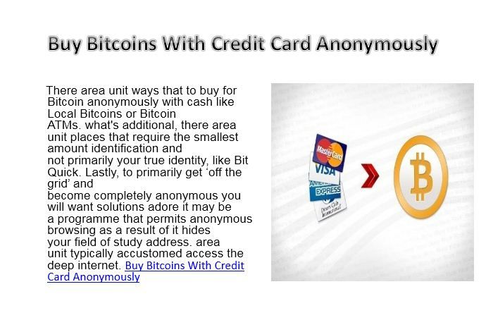 buy cryptocurrency anonymously with credit card