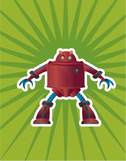 Character design: Robot 2