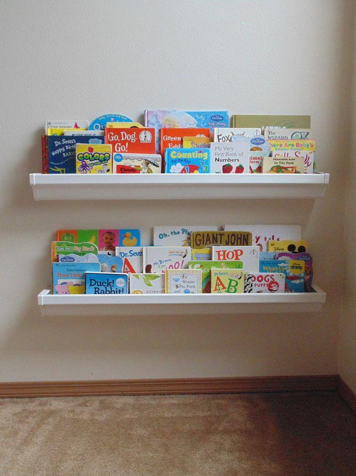 25 Best Rain Gutter Shelves Ideas On Pinterest Toddler