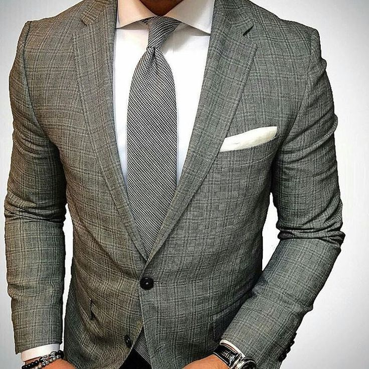 A cool looking black and white textured weave #houndstooth #skinnytie  will set you apart from the rest...