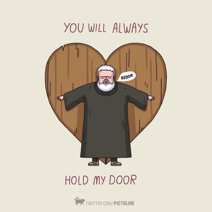 No cerrar la puerta al Hodor del amor