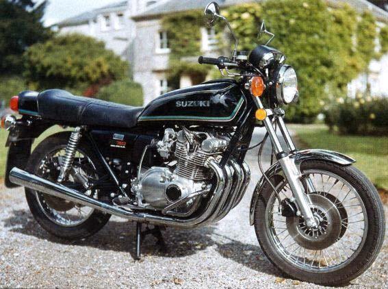 1977 Suzuki Gs750 Suzuki Motorcycle Suzuki Japanese Motorcycle