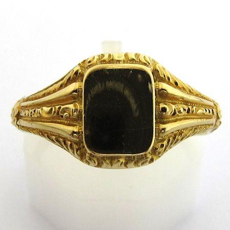 Expertise de bijoux - Chevalière or ancienne 677 - Bijou pour homme - Bijoux anciens Paris
