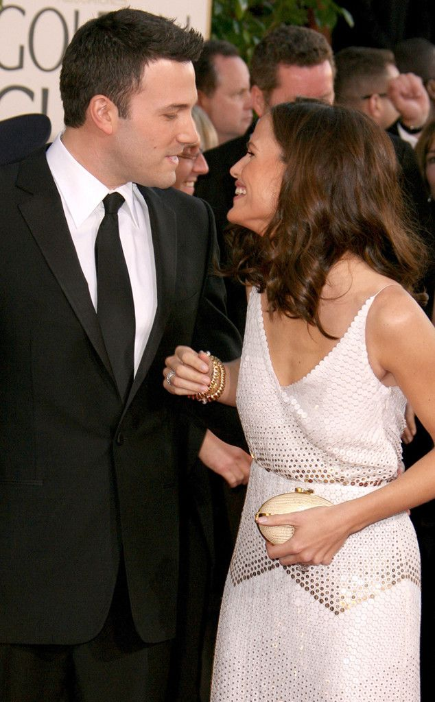 Golden Couple The lovebirds only have eyes for each other at the 2007 Golden Globes.