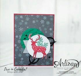 Stampinup Stempelset Freude im Advent - Gastgeberin Stempelset für Weihnachten und Advent basteln stempeln DIY #stampinup #stempeln #DIY #Weihnachtsmarkt #Weihnachtskarte