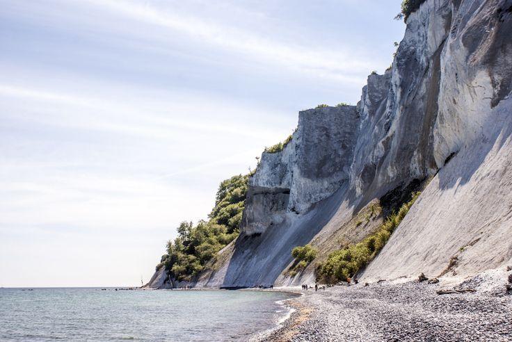 Cliffs on the island of Møns, Denmark