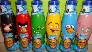 Angry birds drinks bottles
