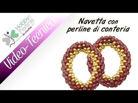 Navetta con perline di conteria   TECNICA - HobbyPerline.com