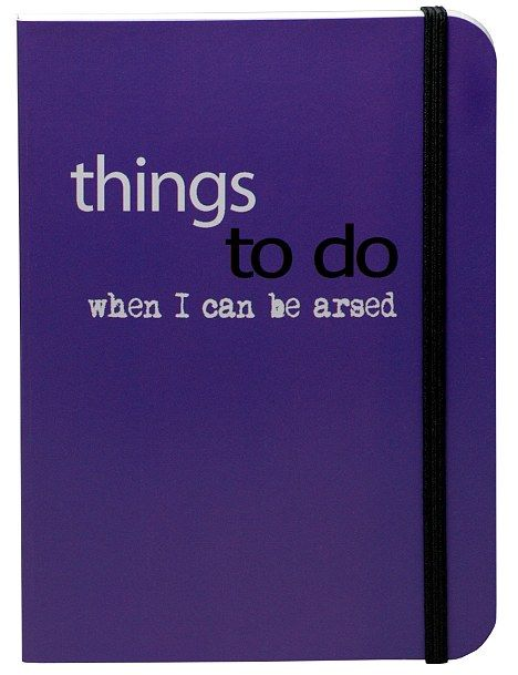 Perhaps your lazy lump needs to make writing 'to do' lists his New Year's resolution. If s...