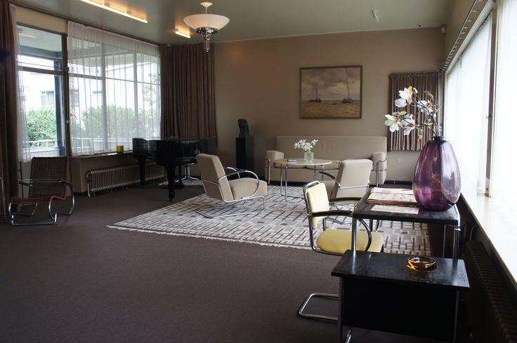 Huis Sonneveld living room Rotterdam