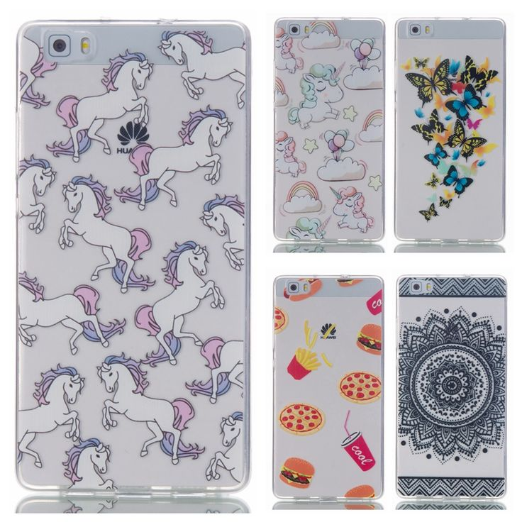 Mandala flower Soft TPU case for Huawei P8 Lite case P8Lite phone cover For Huawei Ascend P8 Lite Silicone cover clear back case #Affiliate