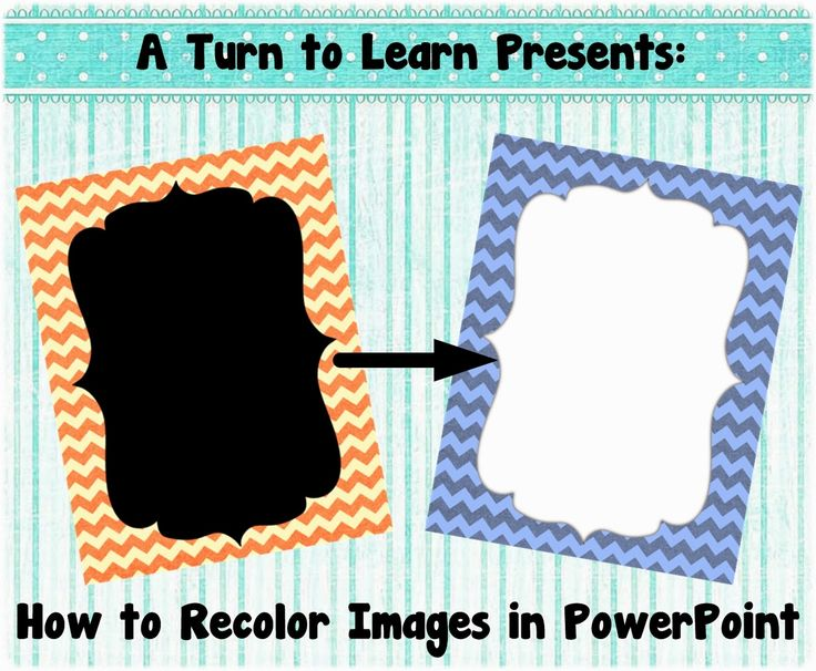 A Turn to Learn: How to Recolor an Image in PowerPoint