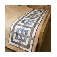 Beautiful bed runner quilt pattern